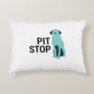 Funny Pit Bull Staffordshire Dog Throw Pillow