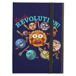 Funny Planet Revolution Solar System Cartoon Case For iPad Air