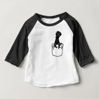 Funny Polish Chicken in a Pocket Baby T-Shirt