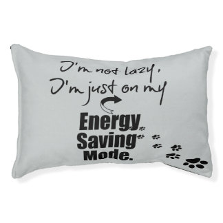 Funny Quote Pet Bed