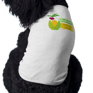 Funny Radish and Corn Vegetable Humor Shirt