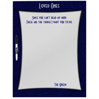 Funny Read My Mind Dry Erase Board