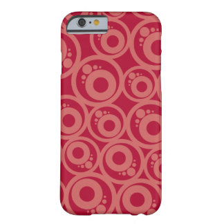 Funny red Pattern Barely There iPhone 6 Case