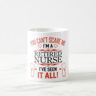 564561d02e6 Funny Retired Nurse Coffee Mug