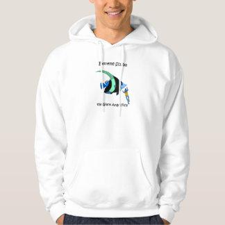Funny scuba diving hoodie