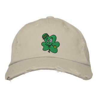 Funny Shamrock Embroidered Hat Embroidered Baseball Cap
