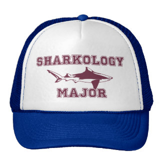 Funny Shark Major Cap