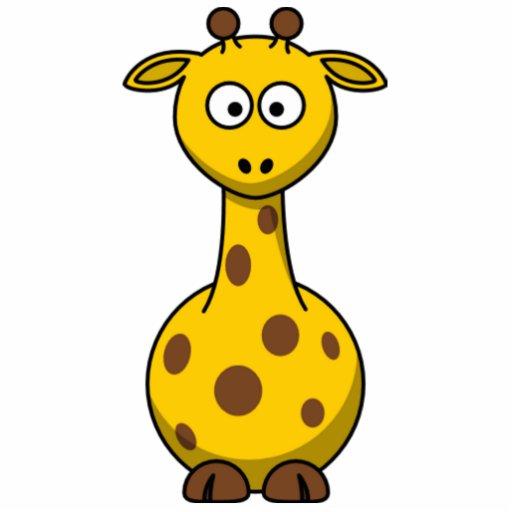 Funny Spotted Cartoon Giraffe Kids Zazzle