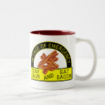 Funny Stay Calm, Eat Bacon Mug