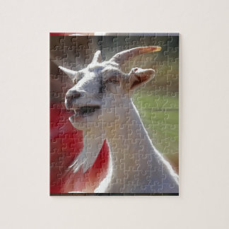 Funny Tallking Goat Photograph Puzzles