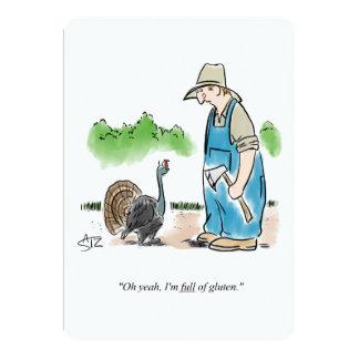 Funny Thanksgiving invitation