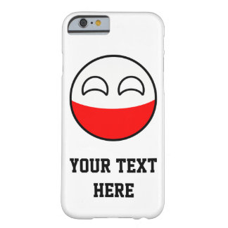 Funny Trending Geeky Poland Countryball Barely There iPhone 6 Case