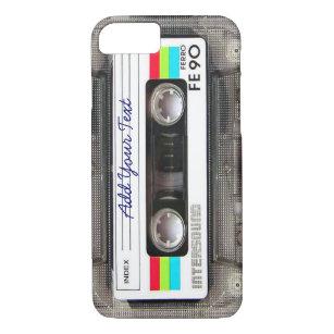 Funny Vintage 80s Retro Music Cassette Tape Case-Mate iPhone Case