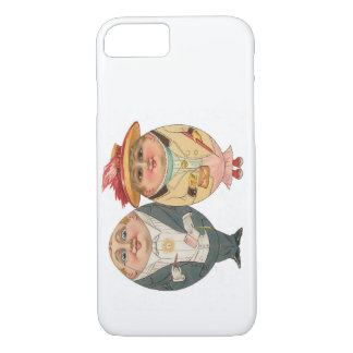 Funny Vintage iPhone 7 case - The Egg Couple