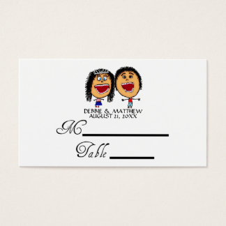 Funny Wedding Place Cards