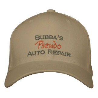 Funny Weekend Mechanic Embroidered Hat