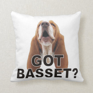 Funny Your butt smells awesome Basset Pillow