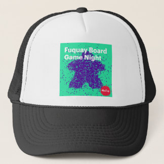 Fuquay Game Night Logo Trucker Hat