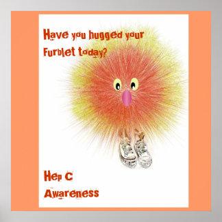 Furblet bringing Hep C Awareness Posters