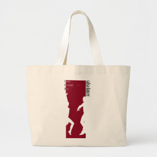 Furious Unleashed Nuts Salsa Dancer=FUN Large Tote Bag