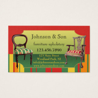 183 upholstery business cards and upholstery business for Upholstery business cards