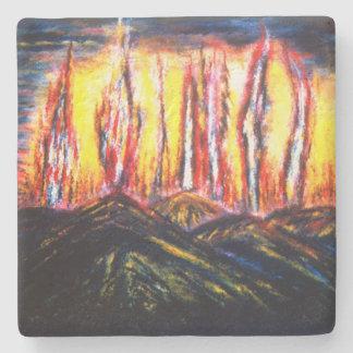 Fury Fires Stone Coaster