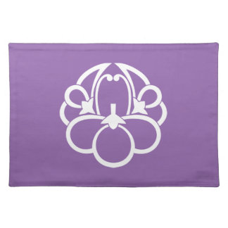 Fusen-style shadowed ume (h) placemat