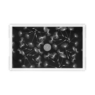 fusion_dandelion acrylic tray