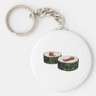 Futomaki Maguro Sushi Keychain