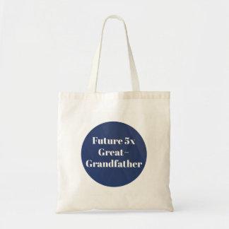 Future 5x Great-Grandfather - Genealogist Tote Bag