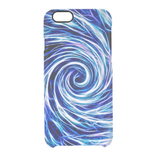 Future Abstract Vivid BL-iPhone 6/6s Clearly™ Case