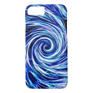 Future Abstract Vivid BL-iPhone 7, Barely There iPhone 8/7 Case