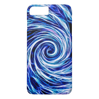 Future Abstract Vivid BL- iPhone 7 Plus, Barely iPhone 8 Plus/7 Plus Case