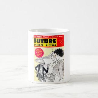 Future April 1960_Pulp Art Basic White Mug