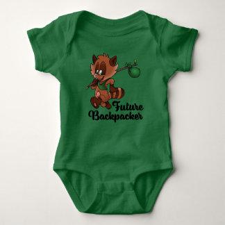 Future Backpacker Baby Bodysuit