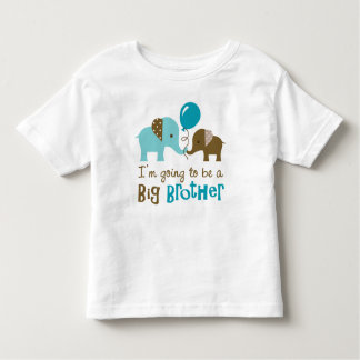 Future big brother - Mod Elephant Toddler T-Shirt