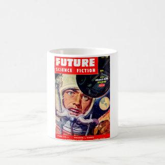 Future December 1955_Pulp Art Basic White Mug