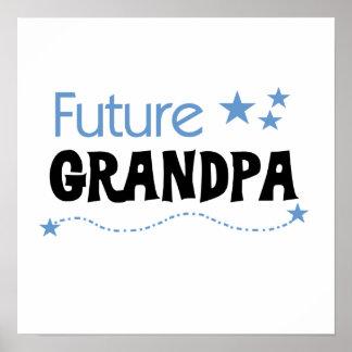 Future Grandpa Tshirts and Gifts Poster