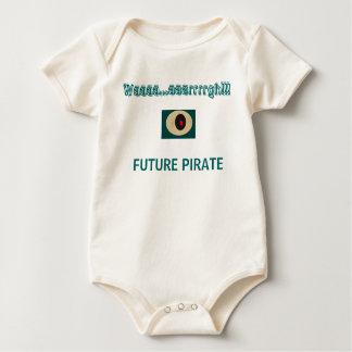 FUTURE PIRATE - onsie Baby Bodysuit