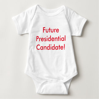 Future Presidentail Cadidate! Republican Red Baby Bodysuit