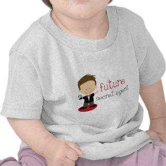 Future Secret Agent T-shirts