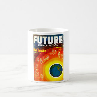 Future September 1953_Pulp Art Coffee Mug