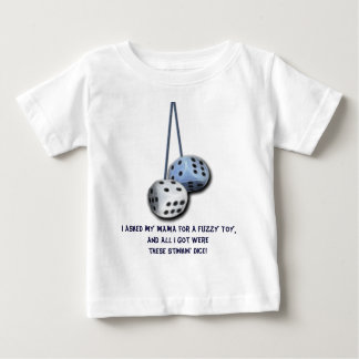 Fuzzy Dice Collection Baby T-Shirt
