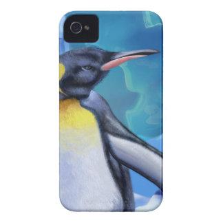 Fuzzy Penguin iPhone 4 Case