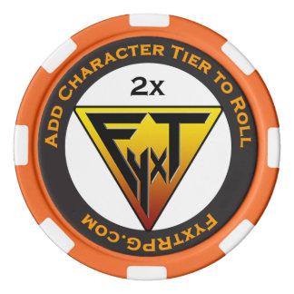 Fyxt RPG +2 Player Reward Token Poker Chips