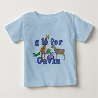G is for Gavin Baby T-Shirt