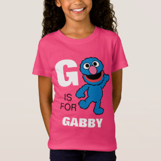 G is for Grover | Add Your Name T-Shirt