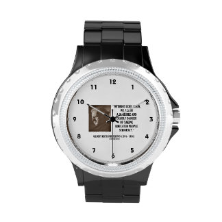 G.K. Chesterton Education Deadly Danger Seriously Wrist Watch