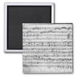 G major for violin, harpsichord and violoncello magnet