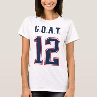 G.O.A.T. Number 12 T-Shirt